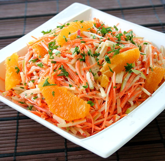 Apple & Carrot Slaw